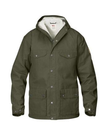 Fjällräven Greenland Winter Jacket TARMAC kjøper du på SQOOP outdoor (SQOOP.no)
