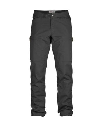 Fjällräven Abisko Shade Trousers M DARK GREY kjøper du på SQOOP outdoor (SQOOP.no)