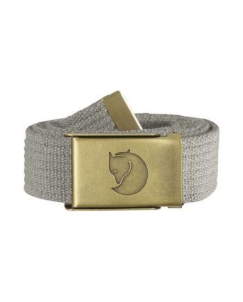 Fjällräven Canvas Brass Belt 3 cm. FOG kjøper du på SQOOP outdoor (SQOOP.no)
