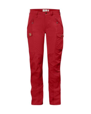 Fjällräven Nikka Curved Trousers W RED kjøper du på SQOOP outdoor (SQOOP.no)