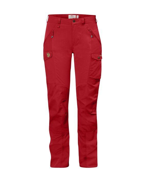 Fjällräven Nikka Curved Trousers W RED kjøper du på SQOOP outdoor (SQOOP.no)