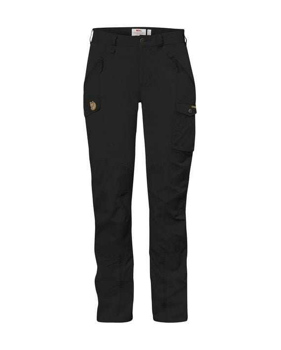 Fjällräven Nikka Curved Trousers W BLACK kjøper du på SQOOP outdoor (SQOOP.no)