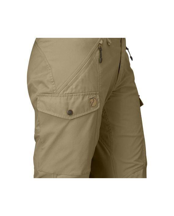 Fjällräven Nikka Curved Trousers W SAND kjøper du på SQOOP outdoor (SQOOP.no)
