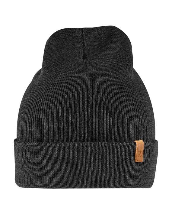 Fjällräven Classic Knit Hat lue Merinoull BLACK kjøper du på SQOOP outdoor (SQOOP.no)