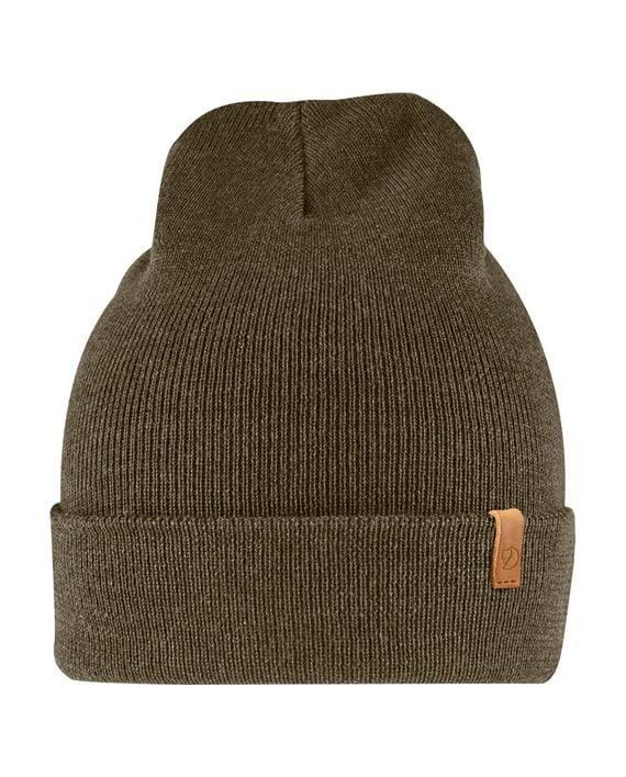 Fjällräven Classic Knit Hat lue Merinoull DARK OLIVE kjøper du på SQOOP outdoor (SQOOP.no)