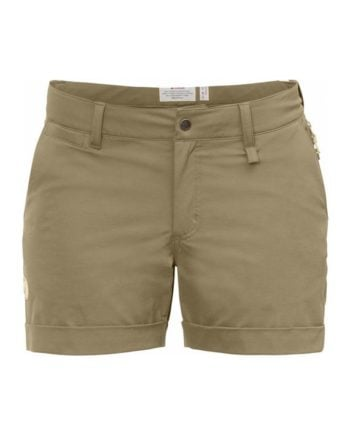 Fjällräven Abisko Stretch Shorts W SAND kjøper du på SQOOP outdoor (SQOOP.no)