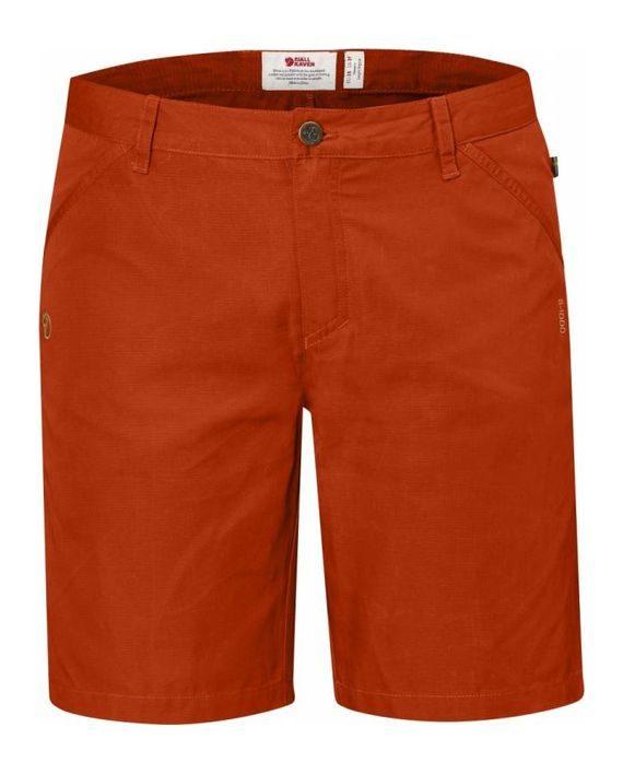 Fjällräven High Coast Shorts W FLAME ORANGE kjøper du på SQOOP outdoor (SQOOP.no)