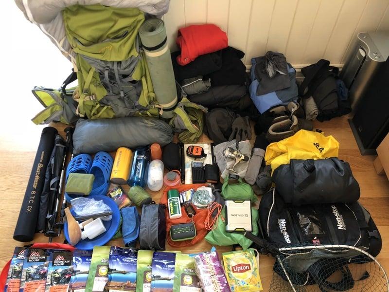 Med telt og fiskestang i Dovrefjell sommeren 2018 | SQOOP