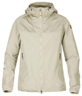 Fjällräven Fjällräven jakke Abisko Hybrid dame BEIGE kjøper du på SQOOP outdoor (SQOOP.no)