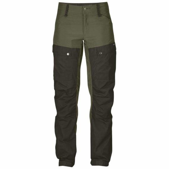 Fjällräven Keb Trousers W Regular DEEP FOREST-LAUREL GREEN kjøper du på SQOOP outdoor (SQOOP.no)