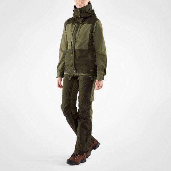 Fjällräven Keb Jacket W DEEP FOREST-LAUREL GREEN kjøper du på SQOOP outdoor (SQOOP.no)