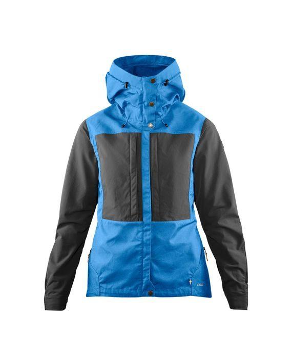 Fjällräven Keb Jacket W UN BLUE-STONE GREY kjøper du på SQOOP outdoor (SQOOP.no)