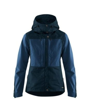 Fjällräven Keb Jacket W DARK NAVY-UNCLE BLUE kjøper du på SQOOP outdoor (SQOOP.no)