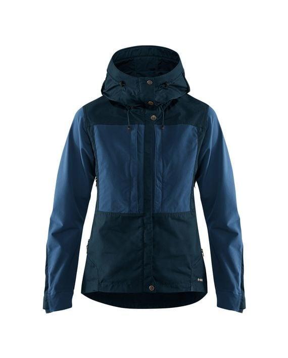 Fjällräven Keb Jacket W DARK NAVY-UNCLE BLUE kjøper du på SQOOP outdoor (SQOOP.no)