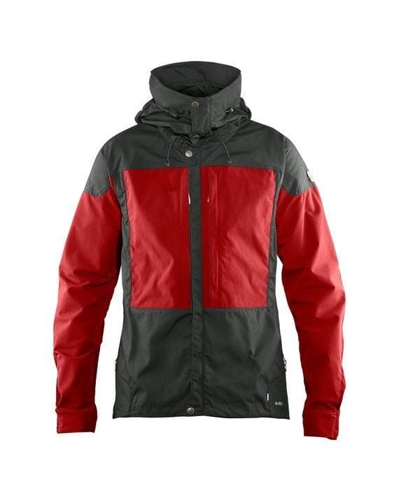 Fjällräven Keb Jacket M STONE GREY-LAVA kjøper du på SQOOP outdoor (SQOOP.no)