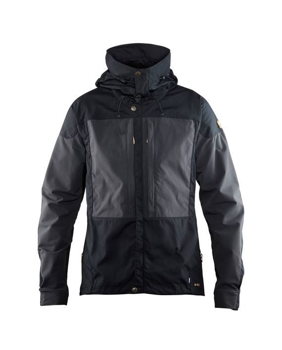 Fjällräven Keb Jacket M BLACK kjøper du på SQOOP outdoor (SQOOP.no)