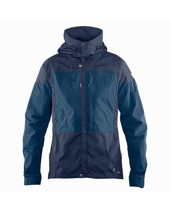 Fjällräven Keb Jacket M DARK NAVY-UNCLE BLUE kjøper du på SQOOP outdoor (SQOOP.no)