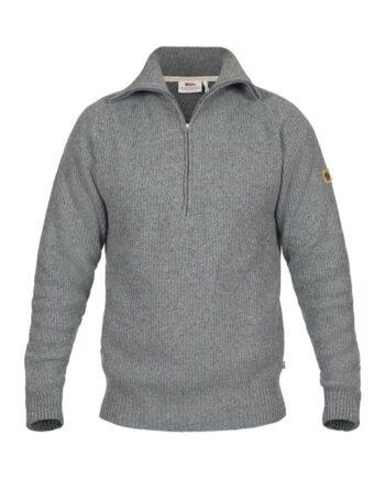 Fjällräven Greenland Re-Wool Sweater M THUNDER GREY kjøper du på SQOOP outdoor (SQOOP.no)