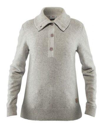 Fjällräven Greenland Re-Wool Sweater W GREY kjøper du på SQOOP outdoor (SQOOP.no)