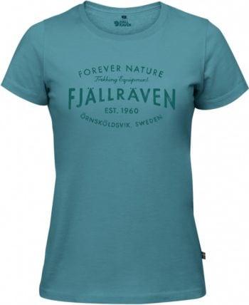 Fjällräven Fjällräven Est 1960 T-shirt W LAGOON kjøper du på SQOOP outdoor (SQOOP.no)
