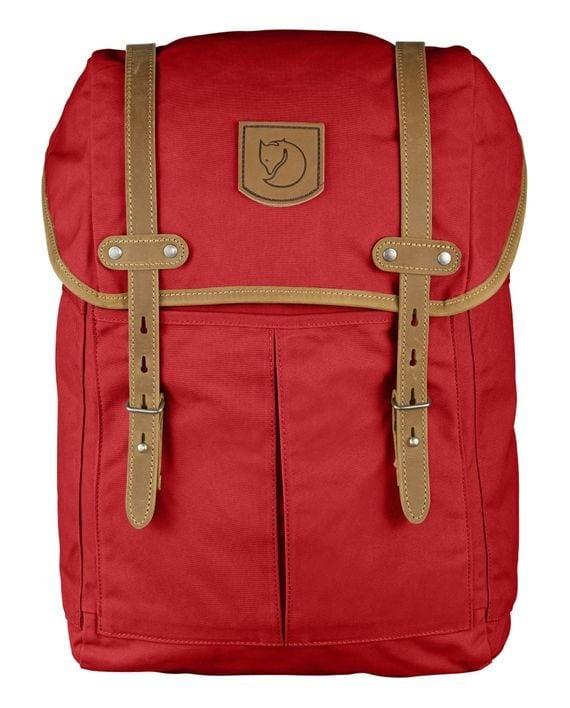 Fjällräven Rucksack No. 21 Medium RED kjøper du på SQOOP outdoor (SQOOP.no)