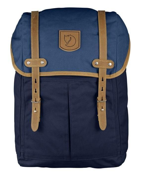 Fjällräven Rucksack No. 21 Medium DARK NAVY-UNCLE BLUE kjøper du på SQOOP outdoor (SQOOP.no)