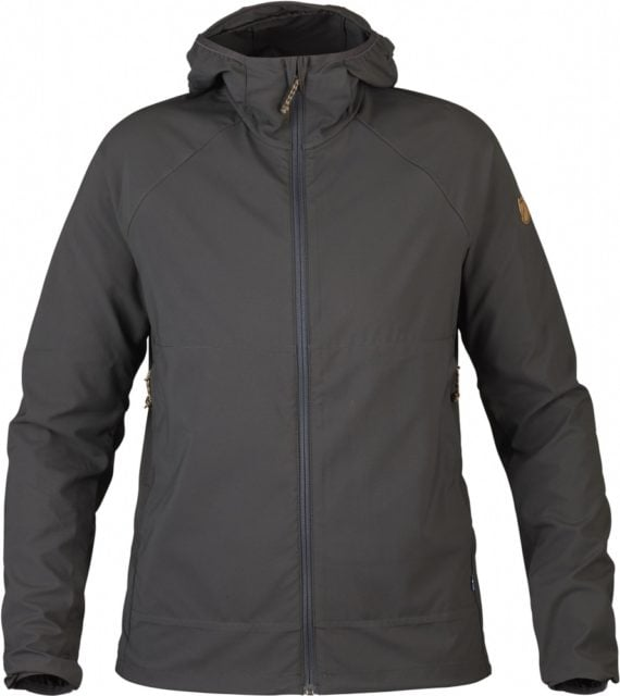 Fjällräven Abisko Hybrid Windbreaker W DARK GREY kjøper du på SQOOP outdoor (SQOOP.no)