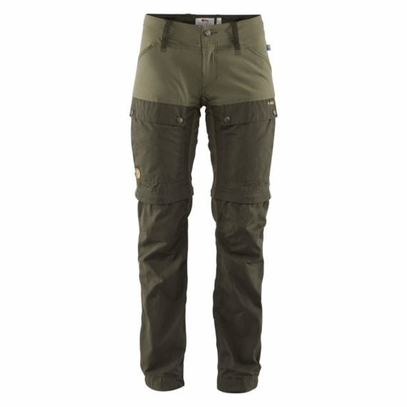 Fjällräven Keb Gaiter Trousers W DEEP FOREST-LAUREL GREEN kjøper du på SQOOP outdoor (SQOOP.no)