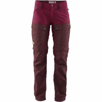 Fjällräven Keb Gaiter Trousers W DARK GARNET-PLUM kjøper du på SQOOP outdoor (SQOOP.no)