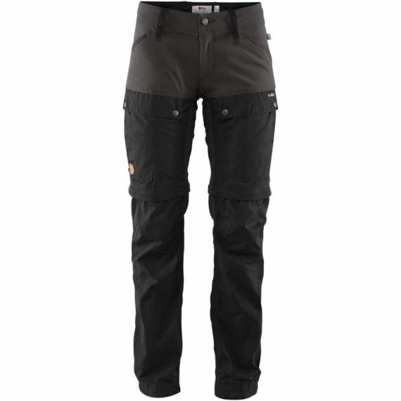 Fjällräven Keb Gaiter Trousers W BLACK-STONE GREY kjøper du på SQOOP outdoor (SQOOP.no)