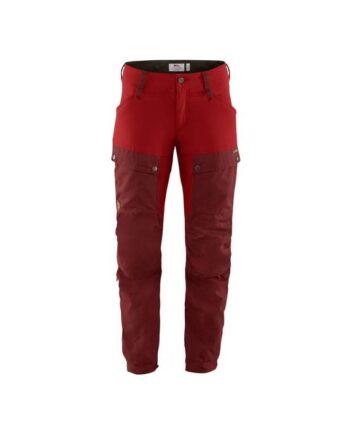Fjällräven Keb Trousers W Reg OX RED-LAVA kjøper du på SQOOP outdoor (SQOOP.no)