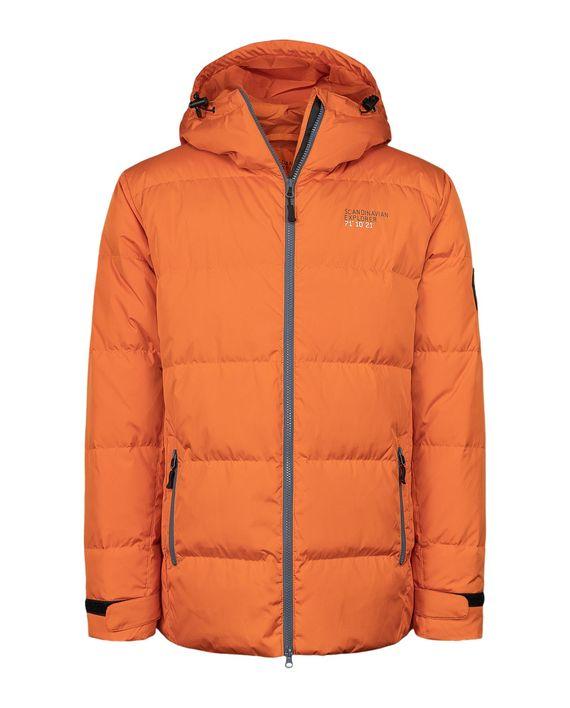 Scandinavian Explorer Dunjakke Unisex Vinter Orange Sqoop