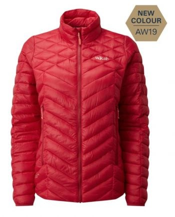 Rab Altus Jacket Ruby W Ruby kjøper du på SQOOP outdoor (SQOOP.no)