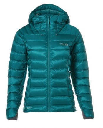 Rab Electron Jacket Atlantis-Seaglass W Atlantis-Seaglass kjøper du på SQOOP outdoor (SQOOP.no)