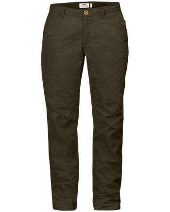 Fjällräven Sörmland Tapered Trousers W DARK OLIVE kjøper du på SQOOP outdoor (SQOOP.no)