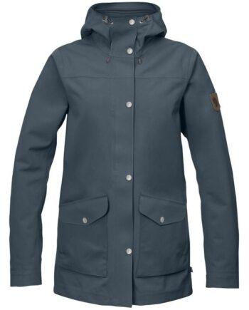 Fjällräven Greenland Eco-Shell Jacket W DUSK kjøper du på SQOOP outdoor (SQOOP.no)