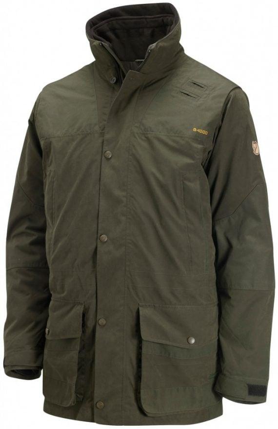Fjällräven Timber Buck Jacket DARK OLIVE kjøper du på SQOOP outdoor (SQOOP.no)