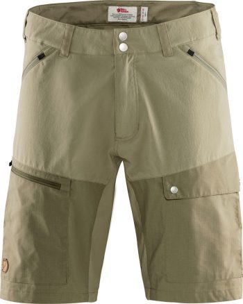Fjällräven Abisko Midsummer Shorts M SAVANNA-LIGHT OLIVE kjøper du på SQOOP outdoor (SQOOP.no)