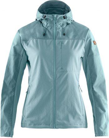 Fjällräven Abisko Midsummer Jacket W MINERAL BLUE-CLAY BLUE kjøper du på SQOOP outdoor (SQOOP.no)