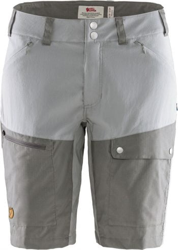 Fjällräven Abisko Midsummer Shorts W SHARK GREY-SUPER GREY kjøper du på SQOOP outdoor (SQOOP.no)