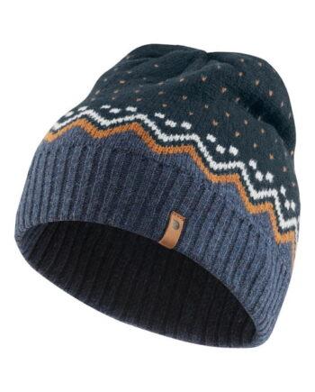 Fjällräven Övik Knit Hat DARK NAVY kjøper du på SQOOP outdoor (SQOOP.no)
