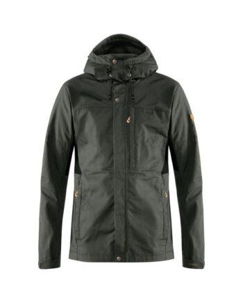 Fjällräven Kaipak Jacket M DARK GREY-BLACK kjøper du på SQOOP outdoor (SQOOP.no)
