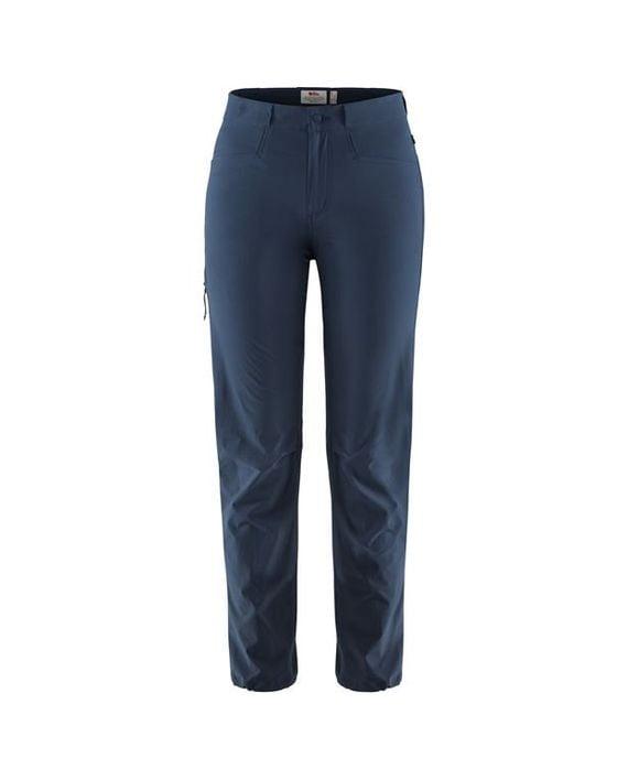 Fjällräven High Coast Lite Trousers W NAVY kjøper du på SQOOP outdoor (SQOOP.no)