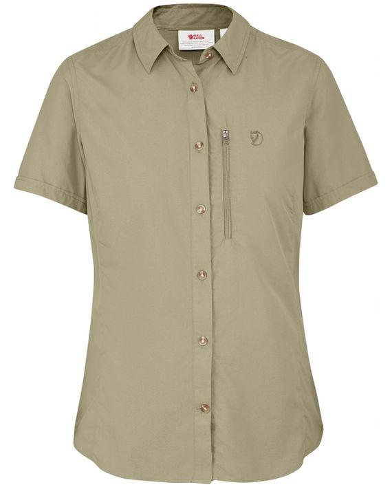 Fjällräven Abisko Hike Shirt SS W CORK kjøper du på SQOOP outdoor (SQOOP.no)