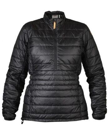 Fjällräven Abisko Padded Pullover W BLACK kjøper du på SQOOP outdoor (SQOOP.no)