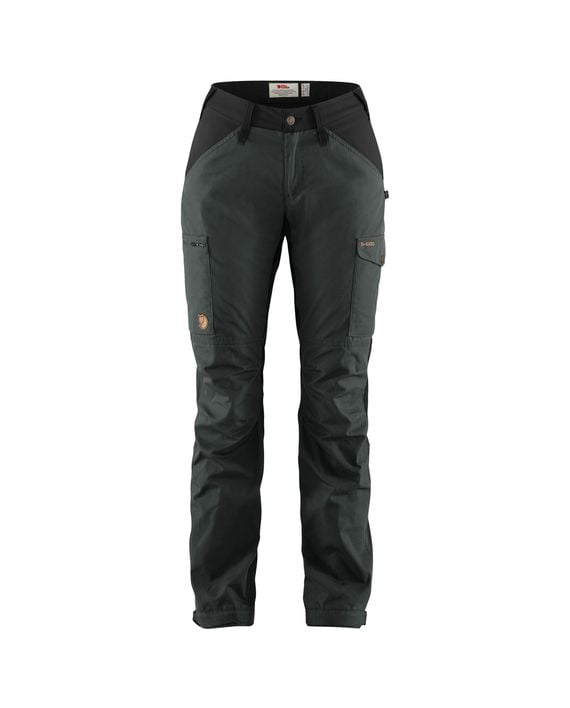 Fjällräven Kaipak Trousers Curved W DARK GREY-BLACK kjøper du på SQOOP outdoor (SQOOP.no)