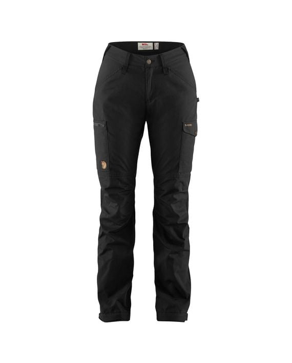 Fjällräven Kaipak Trousers Curved W BLACK kjøper du på SQOOP outdoor (SQOOP.no)
