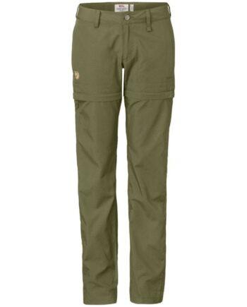Fjällräven Abisko Shade Zip-Off Trousers W LIMESTONE kjøper du på SQOOP outdoor (SQOOP.no)