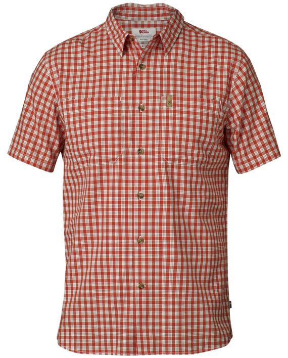 Fjällräven High Coast Shirt SS FLAME ORANGE kjøper du på SQOOP outdoor (SQOOP.no)
