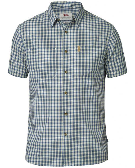 Fjällräven High Coast Shirt SS UN BLUE kjøper du på SQOOP outdoor (SQOOP.no)